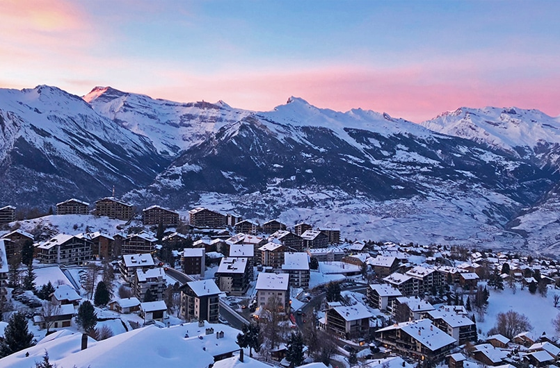 Nendaz ski resort in Switzerland - Catered Ski Chalet Holidays in Verbier, Switzerland
