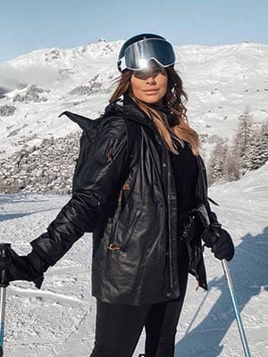 Jessica Rose in Verbier