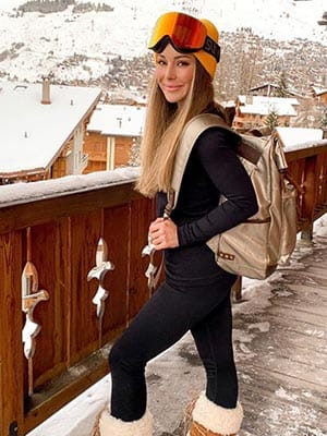 Louise Thompson in Verbier