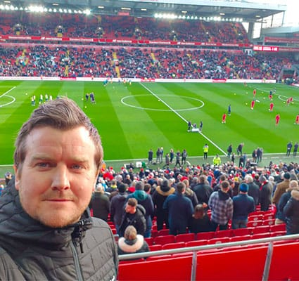 Liverpool FC Verbier event at Anfield