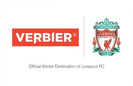 LFC sponsor ski resort of verbier Switzerland